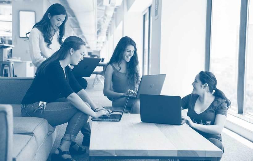 Girls who code, el mundo de la programación es de ellas  4