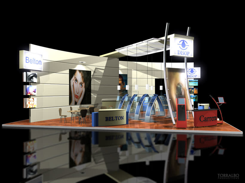3D Stands for advertising fairs 0
