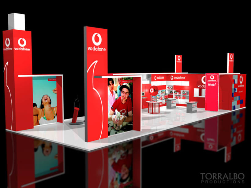 3D Stands for advertising fairs 1
