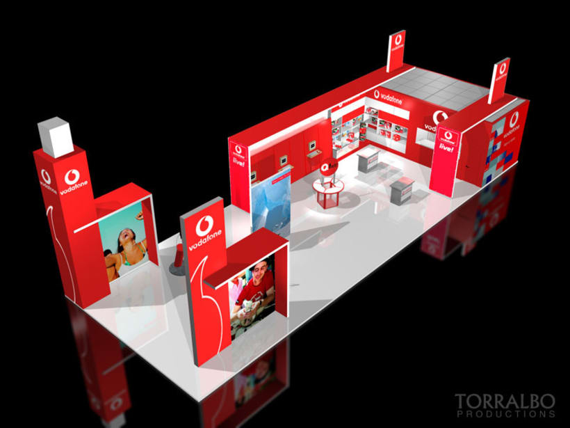 3D Stands for advertising fairs 2