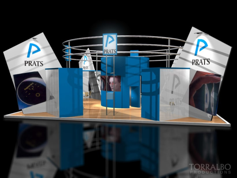 3D Stands for advertising fairs 3