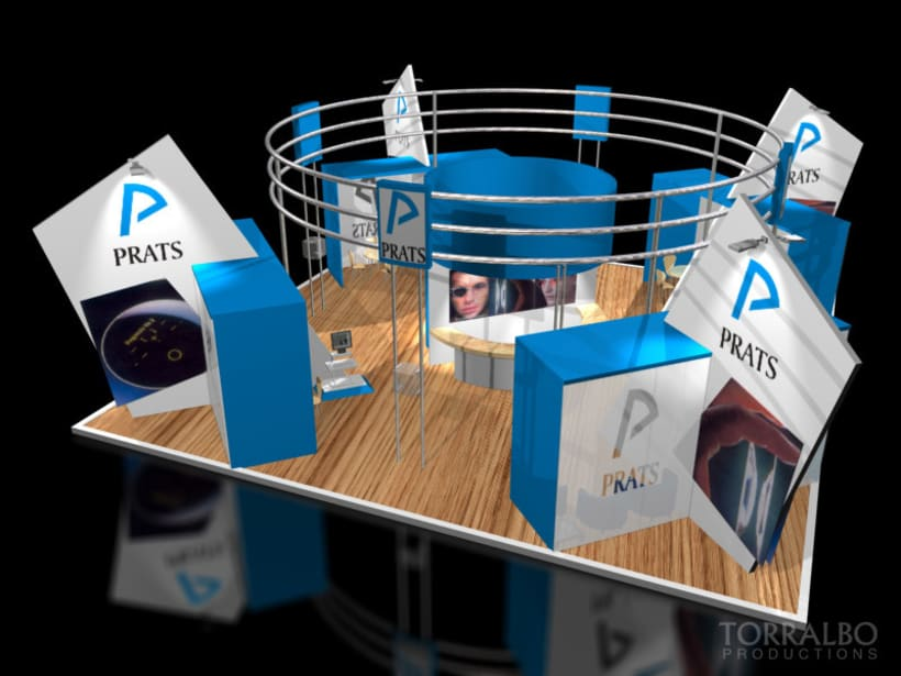 3D Stands for advertising fairs 4