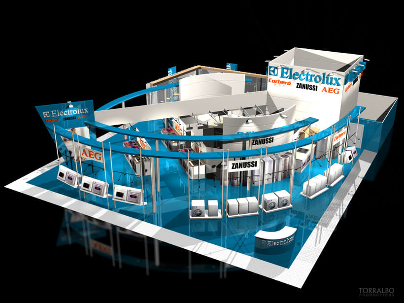 3D Stands for advertising fairs 6