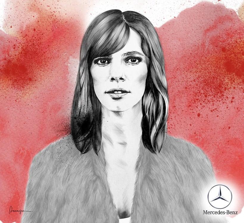 Maribel Verdú / Contrapunto BBDO-Mercedes Benz 0