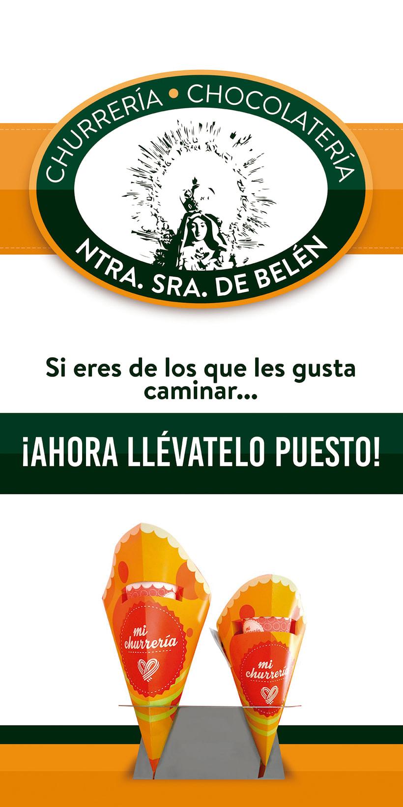 Logotipo Churrería - Chocolatería Nstra. Sra. de Belén 1