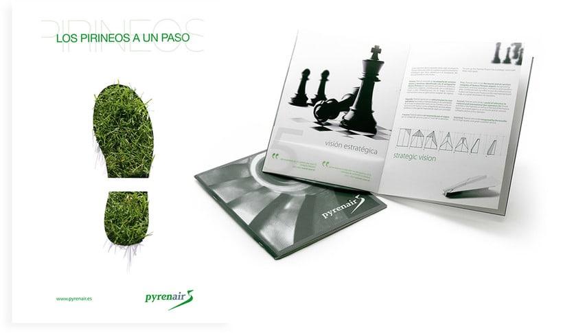Identidad Corporativa + Campaña Publicidad y Medios ON / OFF 1
