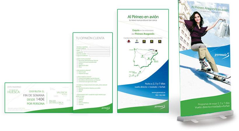Identidad Corporativa + Campaña Publicidad y Medios ON / OFF 6