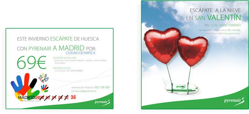 Identidad Corporativa + Campaña Publicidad y Medios ON / OFF 8