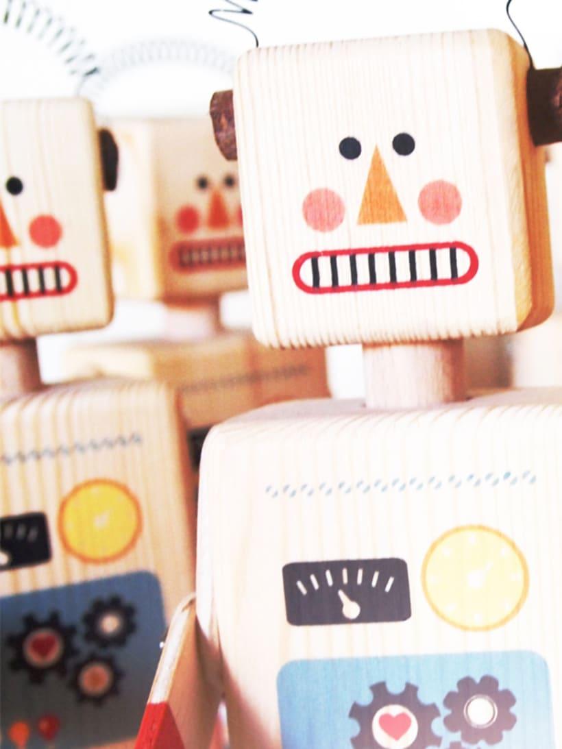Wooden Robot 1