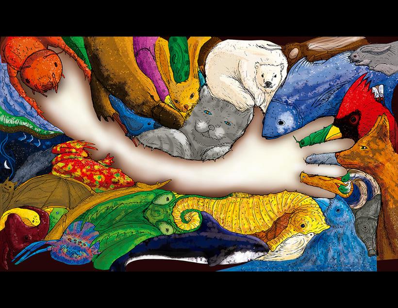 Ilustración de portada para Libro Zoobrother 0