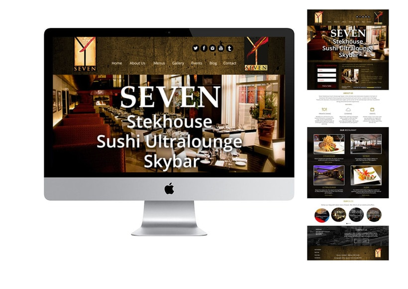 Diseño Web par restaurante -1