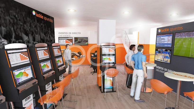 Diseño retail Luckia (más de 140 locales) 1