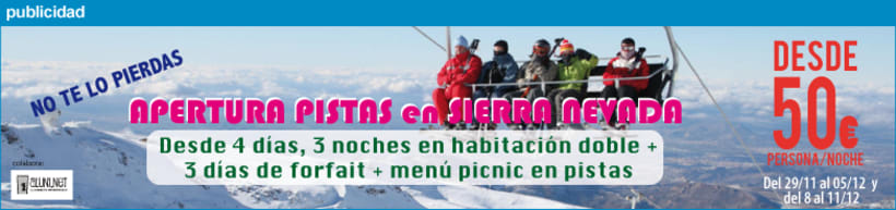 Banners para campañas publicitarias de Viajes Worldwide (Plansurf y Planesqui) 0