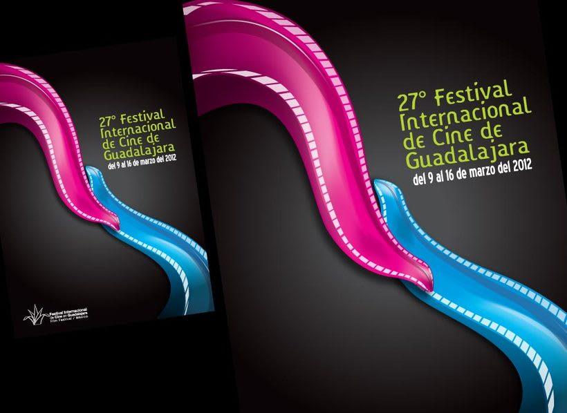 Tercer lugar en el Concurso de diseño de cartel Guadalajara, Mexico, 2011 -1