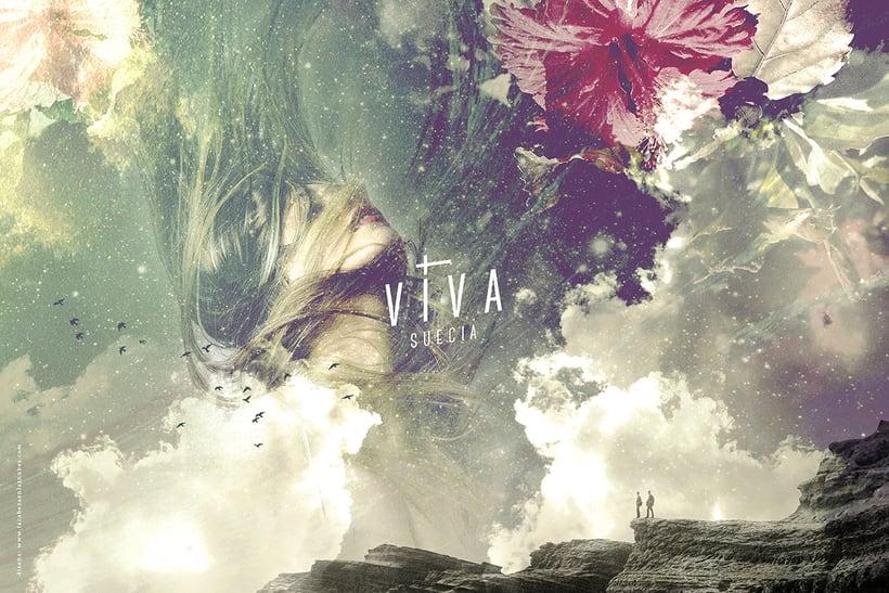 Viva Suecia (Lp & Singles artwork). Subterfuge Records 6