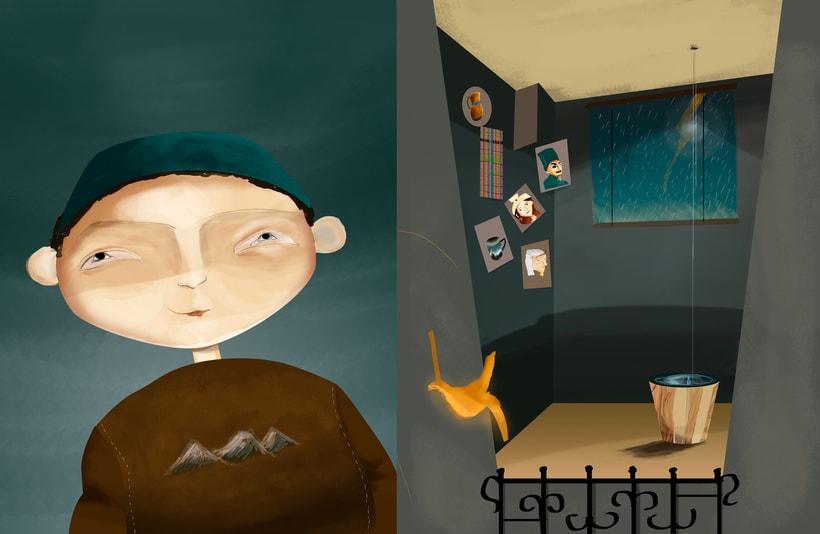 """Ilustraciones para cuento """"Meñique"""" 0"""