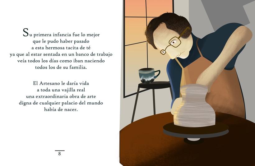 """Ilustraciones para cuento """"Meñique"""" 2"""