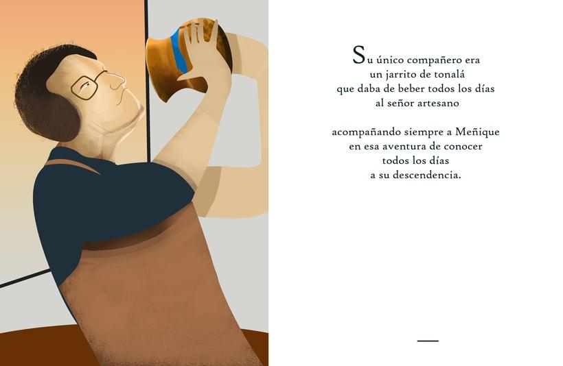 """Ilustraciones para cuento """"Meñique"""" 3"""