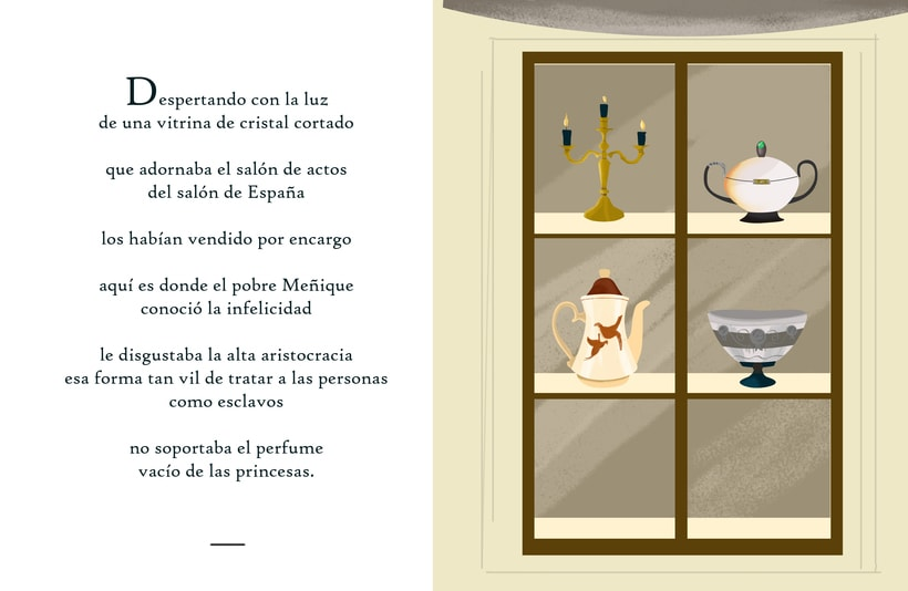 """Ilustraciones para cuento """"Meñique"""" 5"""