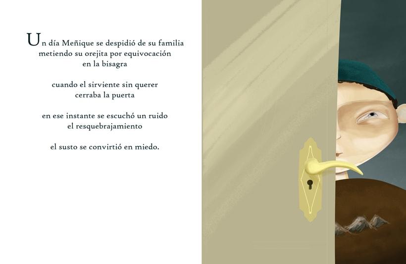 """Ilustraciones para cuento """"Meñique"""" 6"""