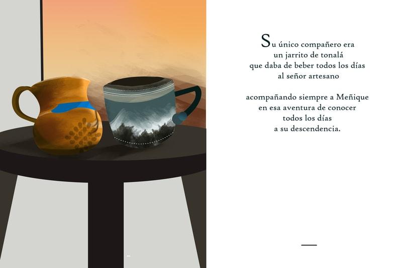 """Ilustraciones para cuento """"Meñique"""" 1"""