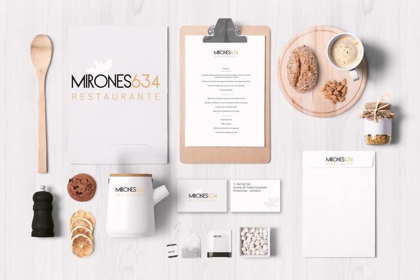 Branding | mirones 634 restaurante 0