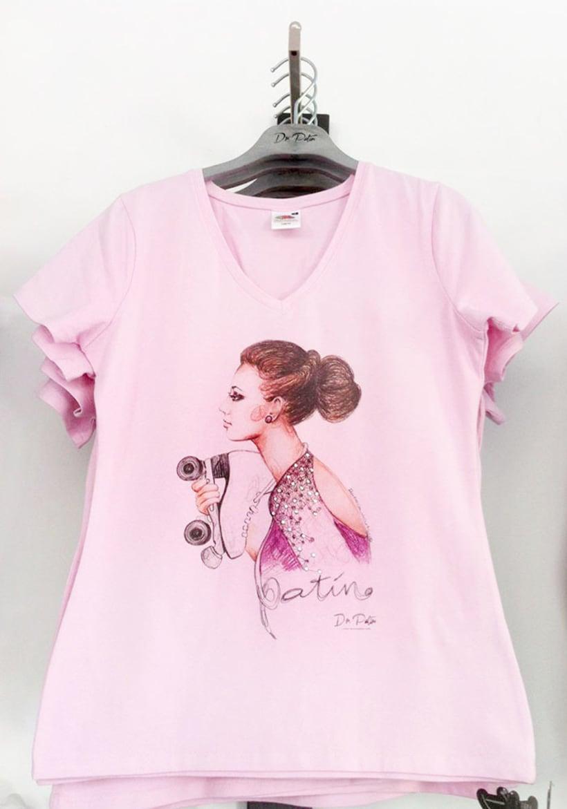 Diseño de camiseta para Dr.Patín. 1