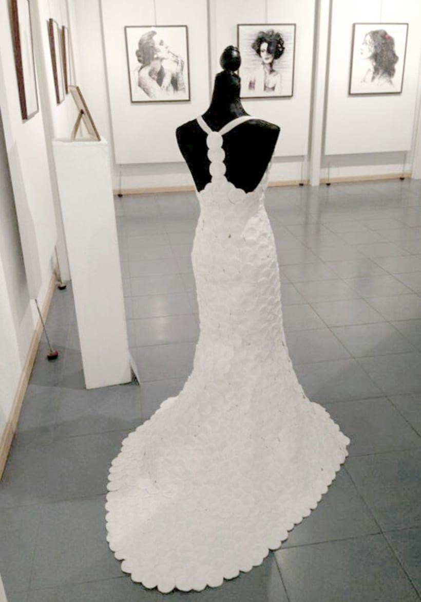 Exposición en el centro cultural Gabriel Celaya, 2013. (ilustración. escultura. intervención) 2