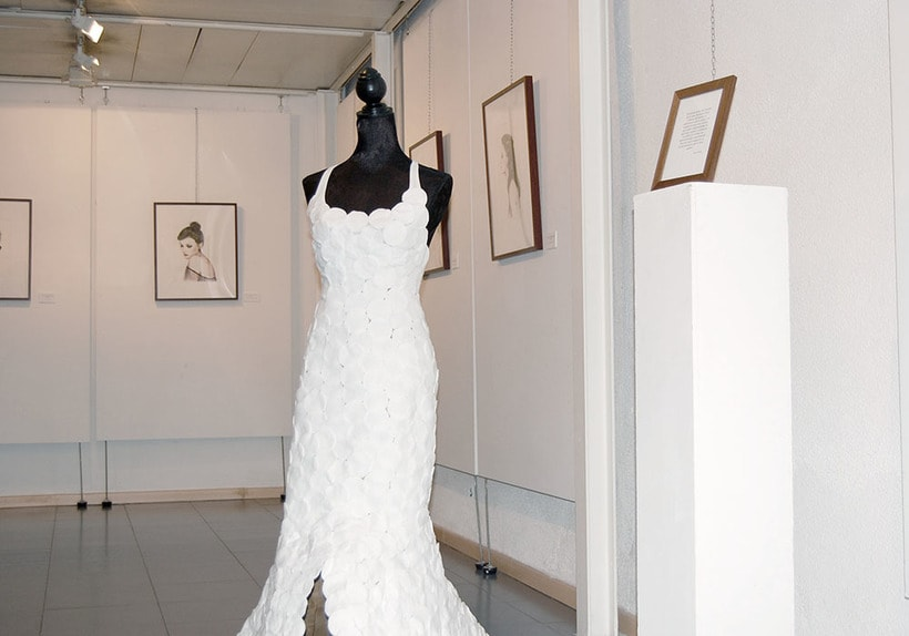 Exposición en el centro cultural Gabriel Celaya, 2013. (ilustración. escultura. intervención) 0