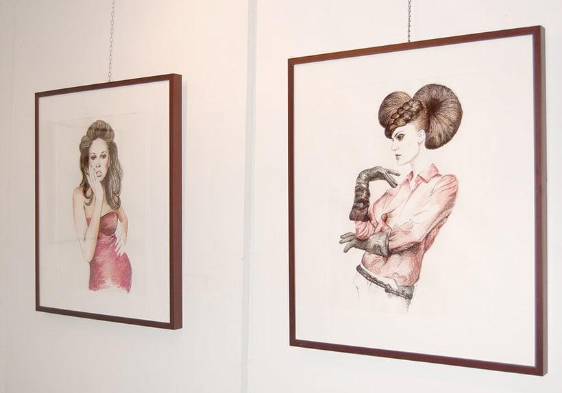 Exposición en el centro cultural Gabriel Celaya, 2013. (ilustración. escultura. intervención) 5