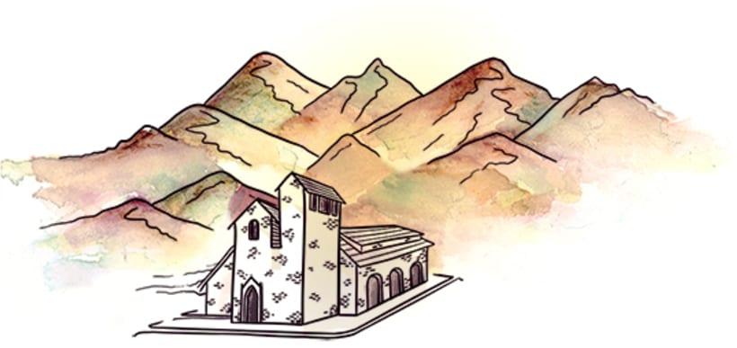 Leda - Ilustración para Obra de Teatro 8