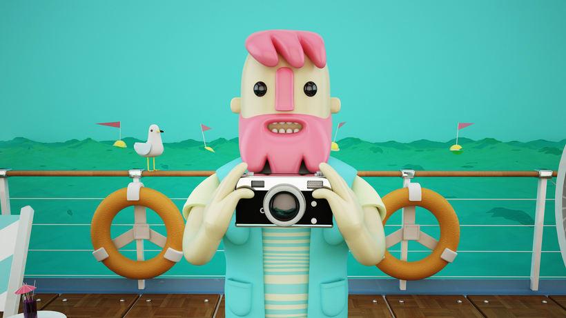 Mi Proyecto del curso: Diseño de personajes en Cinema 4D: del boceto a la impresión 3D 3