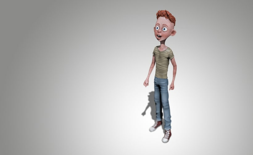 Modelado de personajes en 3D.  0