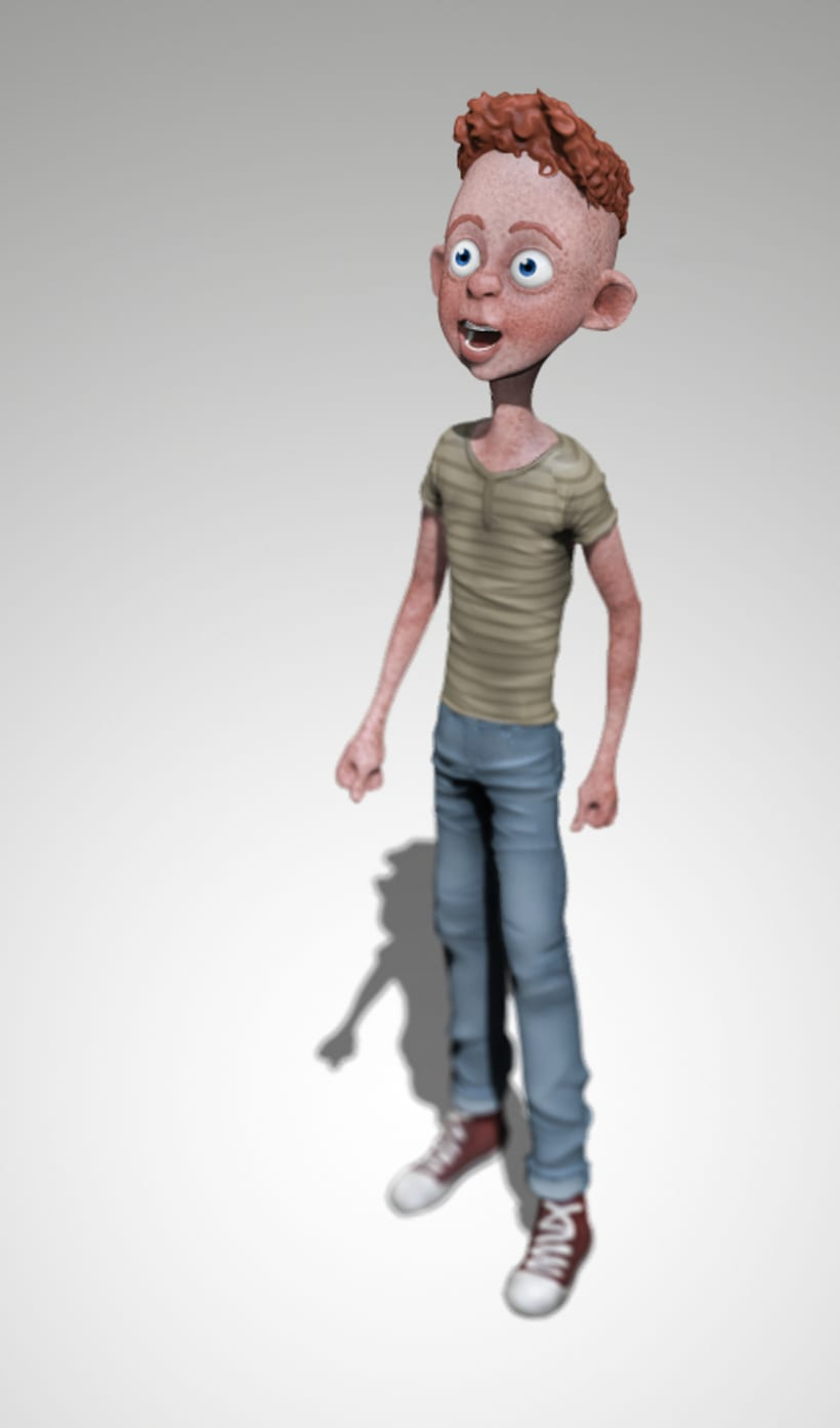 Modelado de personajes en 3D.  6