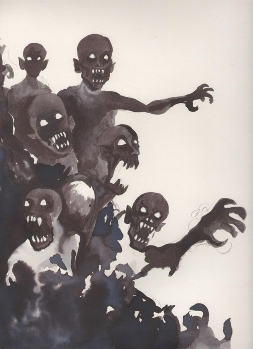 """Afiche promocional """"Vampiros: de las páginas a las pantallas"""" 0"""