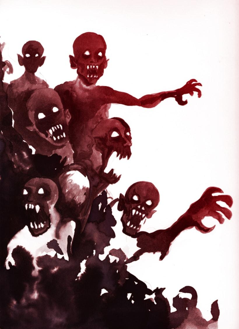 """Afiche promocional """"Vampiros: de las páginas a las pantallas"""" 1"""