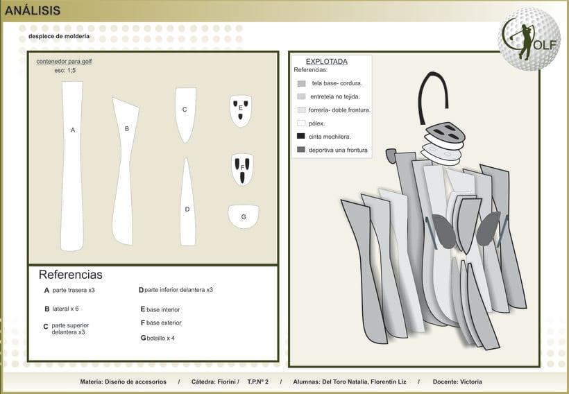 bolso para palos de golf 5
