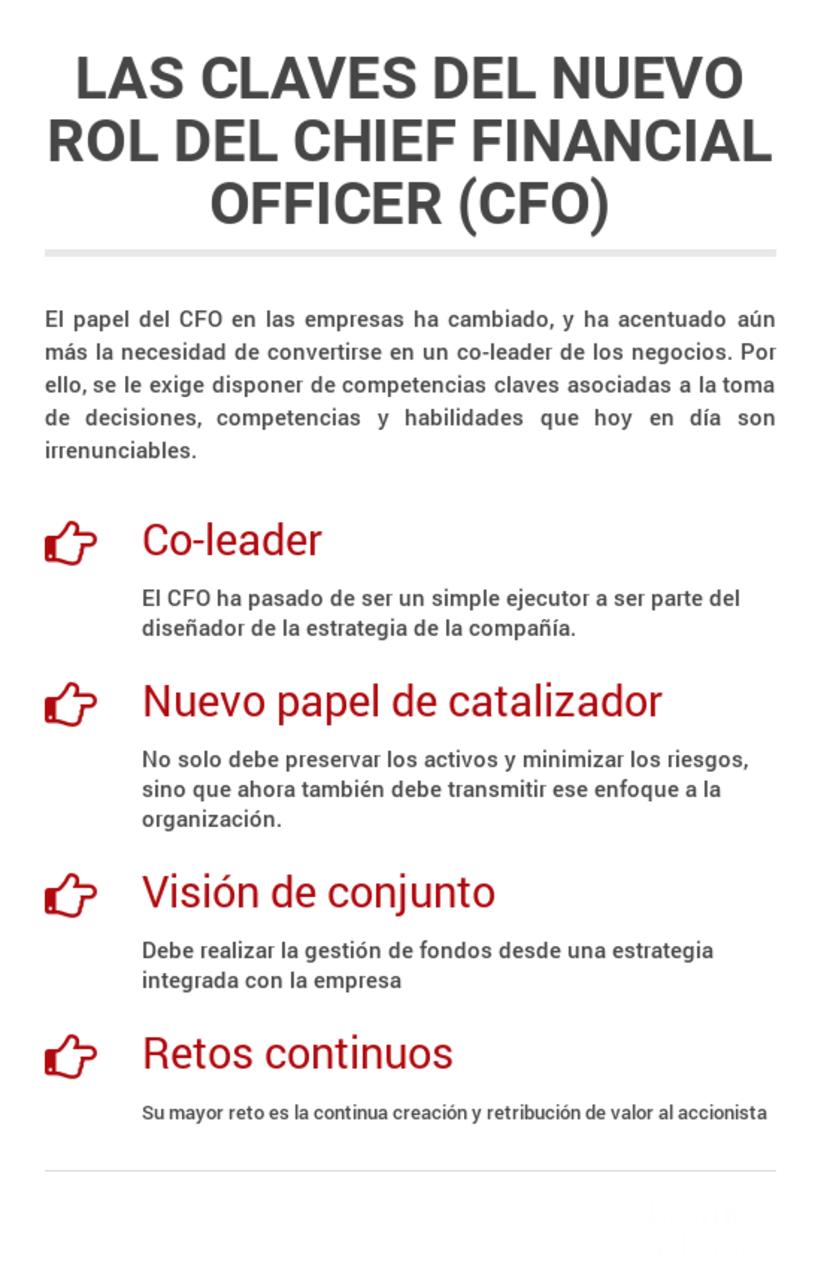 El nuevo perfil del CFO -1