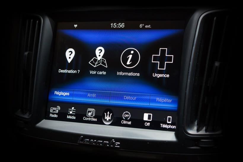 Maserati Levante HMI - Infotainment 1
