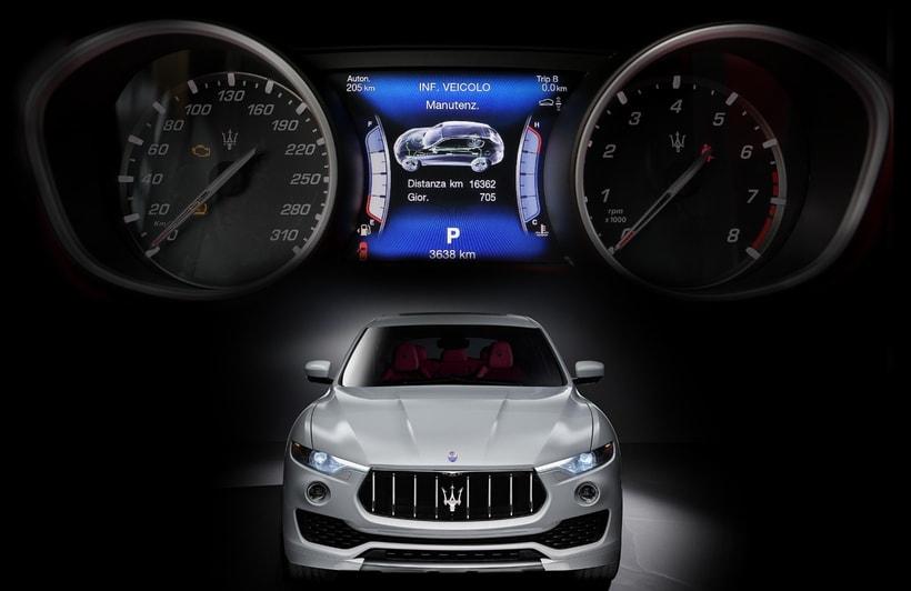 Maserati Levante HMI - Infotainment 0