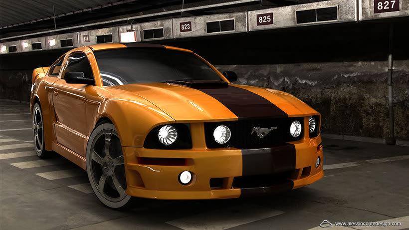 Mustang 3D -1