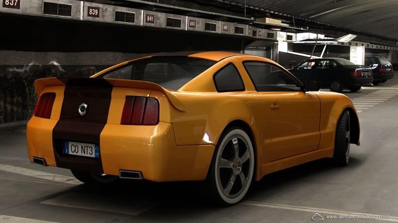 Mustang 3D 0