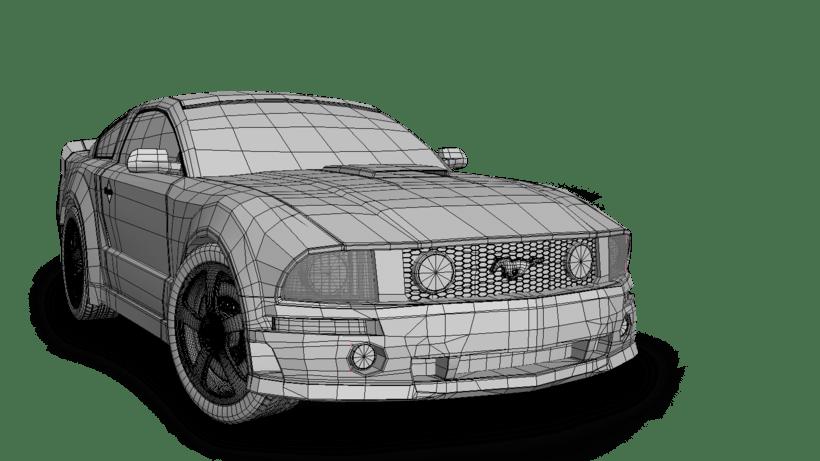 Mustang 3D 1