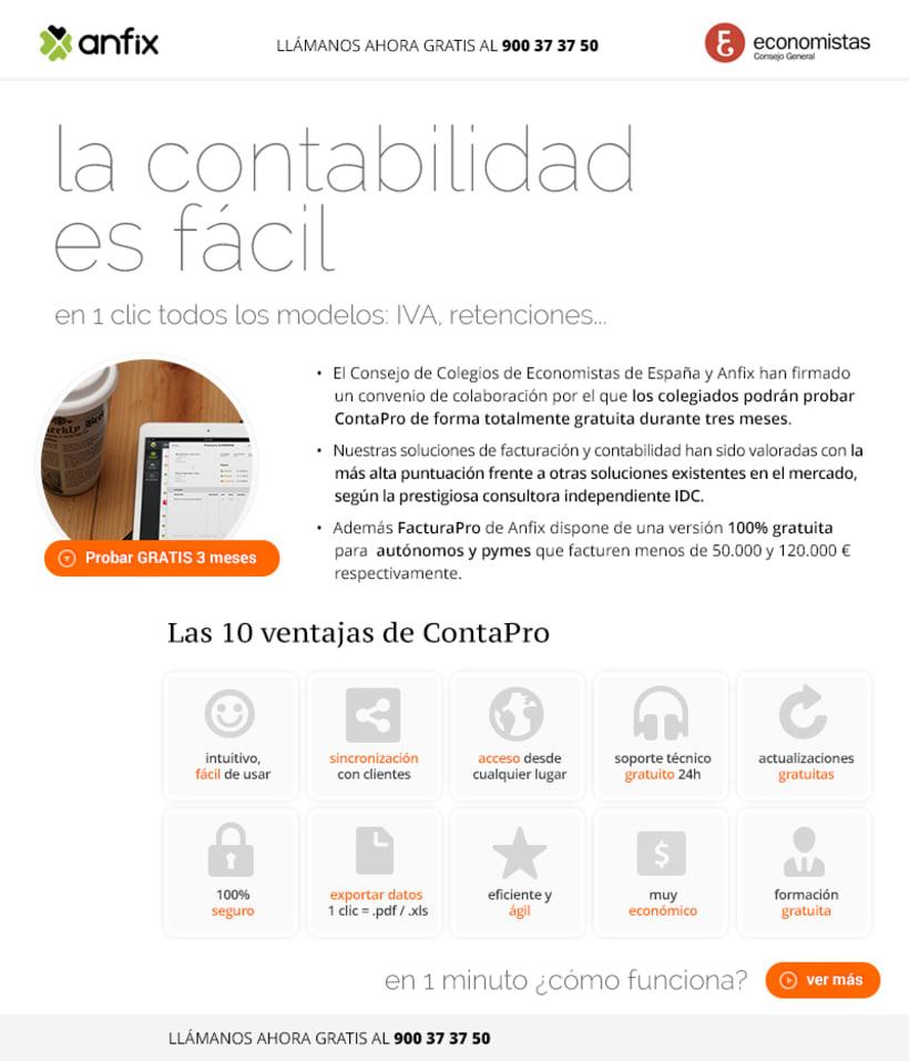 Anfix plataforma contabilidad (cloud service) 3