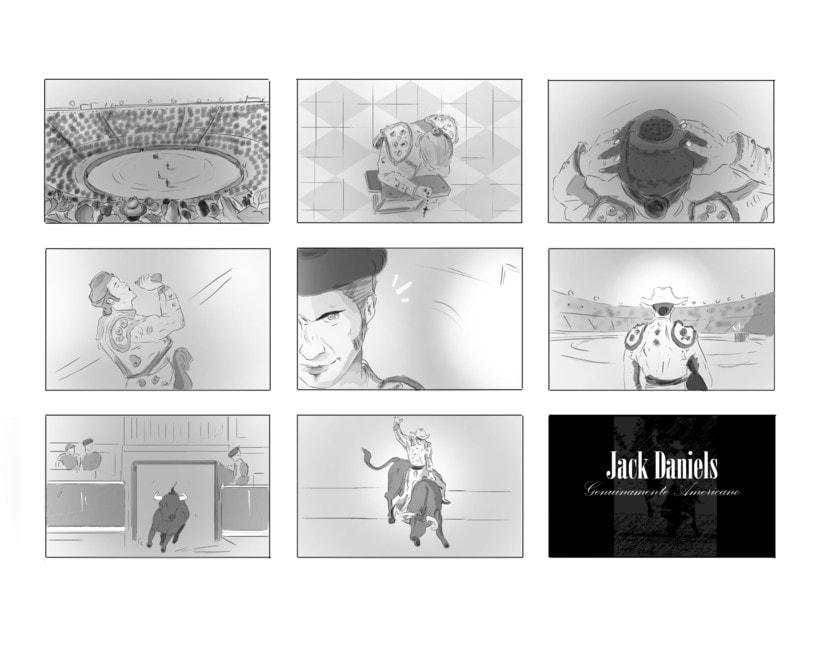 Storyboards: Jack Daniel's/ FEDER 1