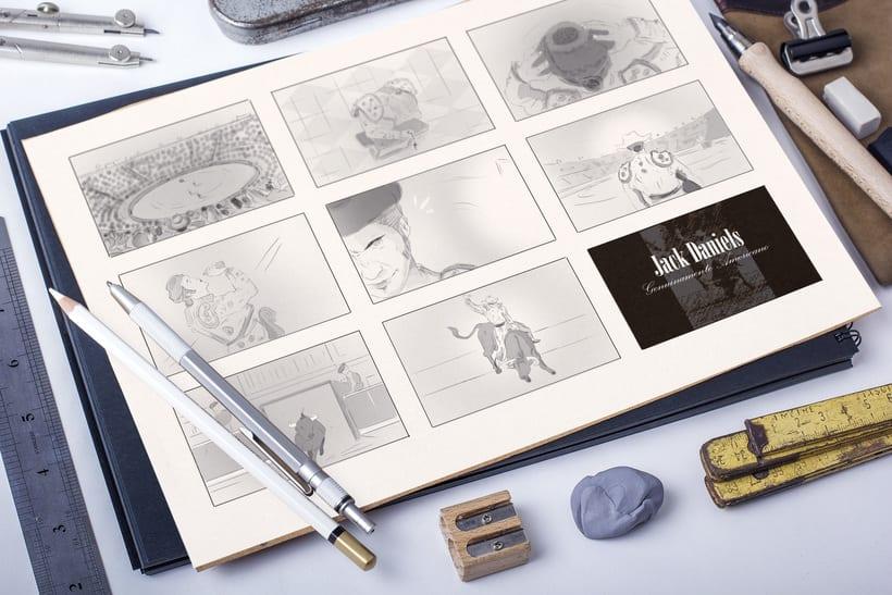 Storyboards: Jack Daniel's/ FEDER 2