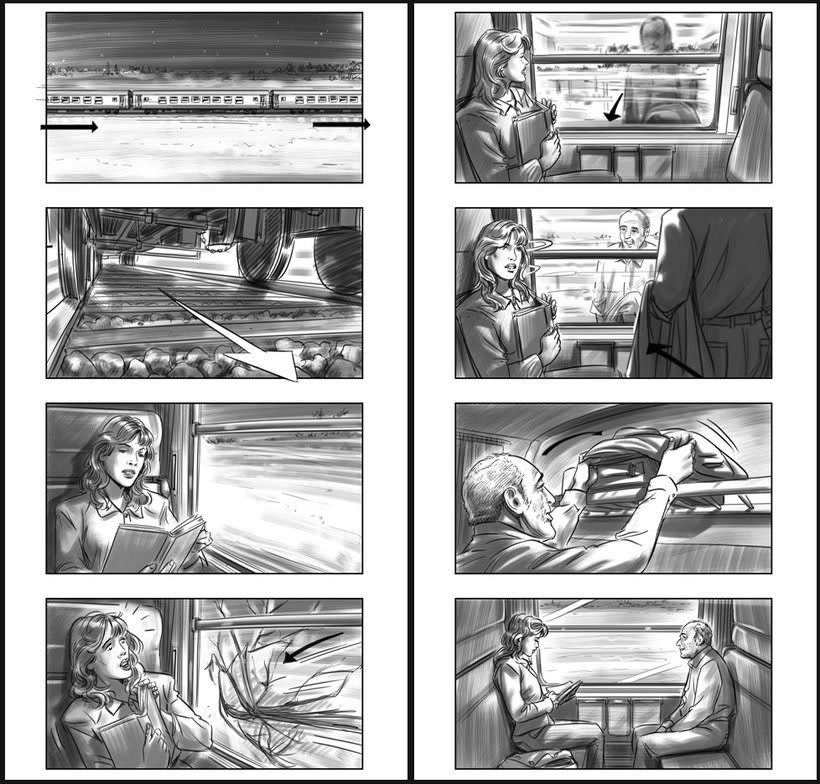 Julieta - Pedro Almodóvar. Storyboards 0