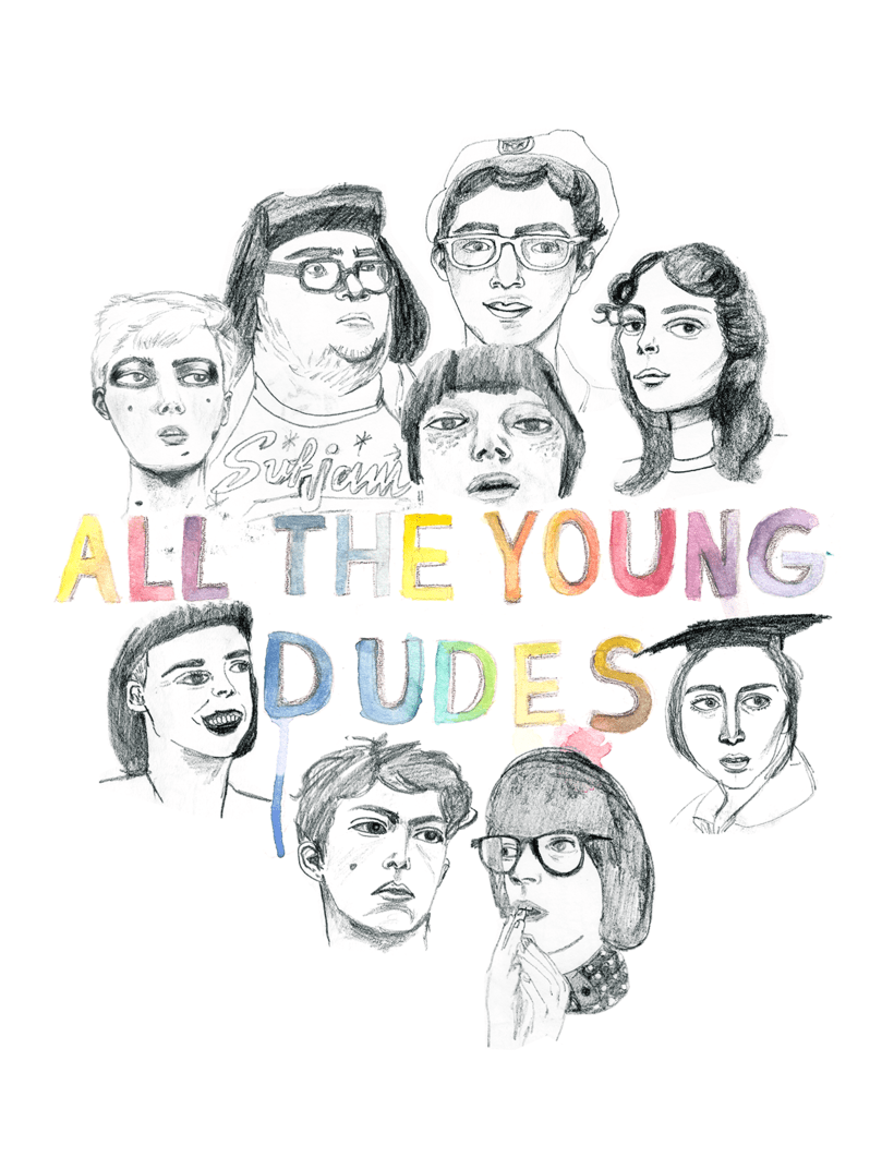All the Young Dudes -1