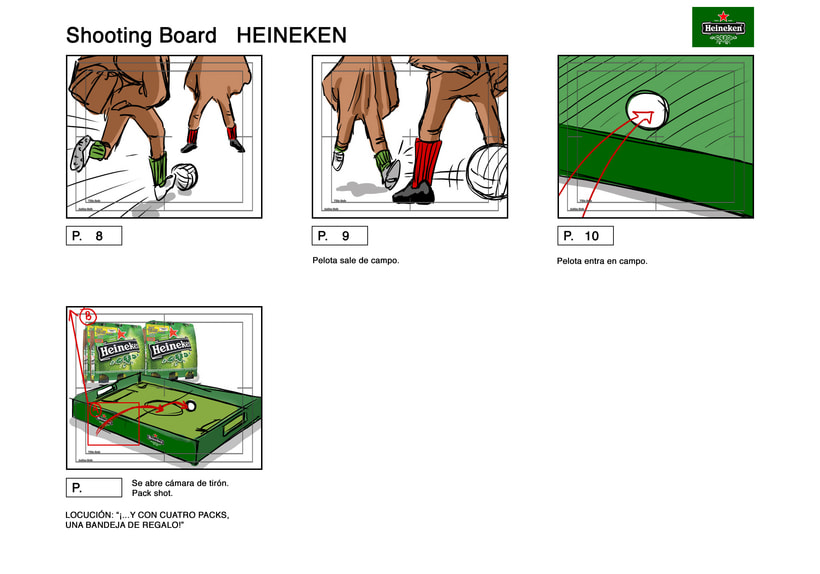 Heineken Fingerbol - Spot TV. 3