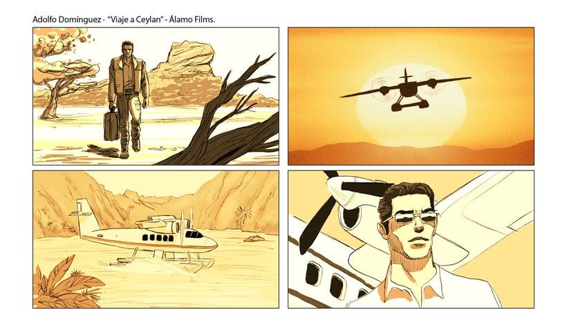 Story Board - Adolfo Domínguez. 1